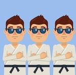 karate duplicates