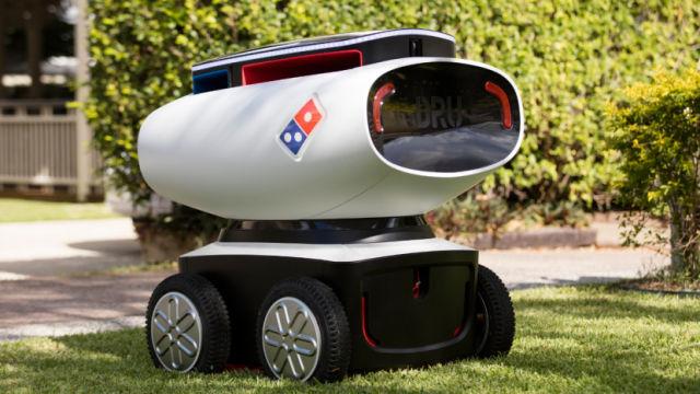 Domino's Robot