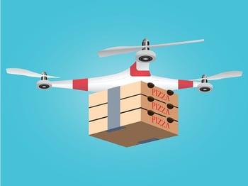 Pizza Drone